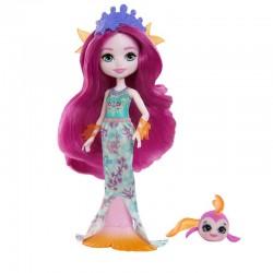 MATTEL Enchantimals Lalka i Zwierzątko Maura Mermaid i Glide GYJ02