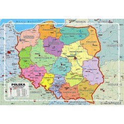 Maxim - Puzzle 150 - Mapa Administracyjna Polski