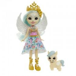 MATTEL Enchantimals Lalka i Zwierzątko Paolina Pegasus i Wingley GYJ03