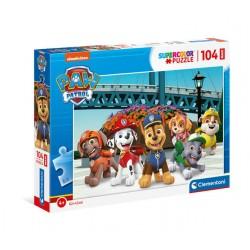 CLEMENTONI Puzzle MAXI 104el. PSI PATROL SuperColor 23755