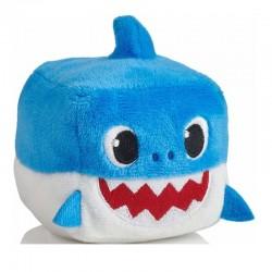 Pinkfong BABY SHARK MASKOTKA Z DŹWIĘKIEM Daddy Shark Niebieski 03301