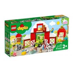 LEGO DUPLO 10952 Stodoła Traktor i Zwierzęta Gospodarskie