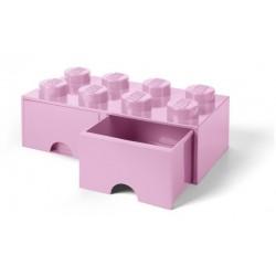 LEGO Pojemnik 8 na Zabawki z Szufladami JASNY RÓŻ 9579