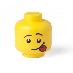 LEGO Pojemnik Głowa MINI Chłopiec Silly 3545