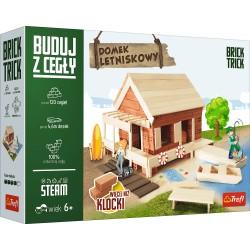 TREFL Brick Trick Buduj z Cegieł DOMEK LETNISKOWY 61350