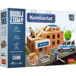 TREFL Brick Trick Buduj z Cegieł KOMISARIAT 61349
