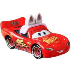 Mattel CARS AUTA Samochodzik Metalowy ZYGZAK MCQUEEN JAKO ZAJĄCZEK WIELKANOCNY GRR98