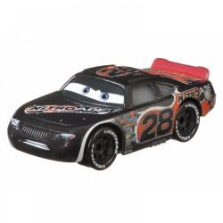 Mattel CARS AUTA Samochodzik Metalowy AIKEN AXLER SREBRNY ALEK GXG35