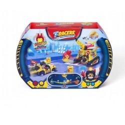 Magic Box Toys T-RACERS ZESTAW Z WYRZUTNIĄ Turbo Crane 5711