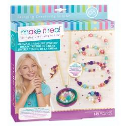 Make It Real ZESTAW DO TWORZENIA BIŻUTERII Mermaid Treasure SYRENKI 1306