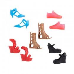 MATTEL Zestaw butów dla lalek Barbie SANDAŁY GXG02