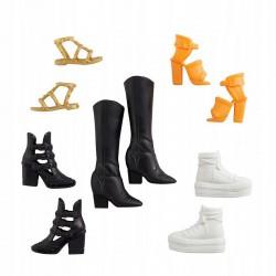 MATTEL Zestaw butów dla lalek Barbie KOZAKI GXG01