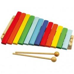 Bigjigs Toys - BJ660 - Drewniany Ksylofon