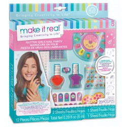 Make It Real ZESTAW MANICURE Glitter Girls Nail Party 2306