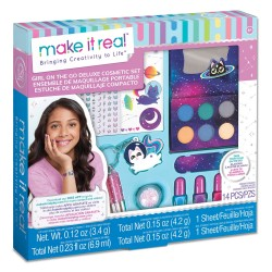 Make It Real ZESTAW MAKE UP + MANICURE Girl On The Go Deluxe 2463