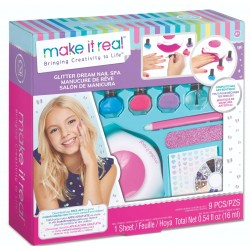 Make It Real ZESTAW MANICURE Glitter Dream Nail Spa 2462