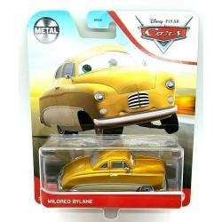 Mattel CARS AUTA Samochodzik Metalowy MILDRED BYLANE GRR58