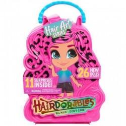 Hairdorables HAIR ART Laleczka Niespodzianka + Akcesoria WALIZKA W CĘTKI 23850