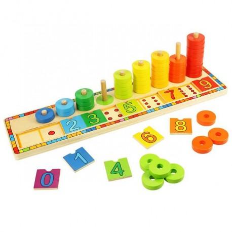 Bigjigs Toys - BJ531 - Nauka Liczenia