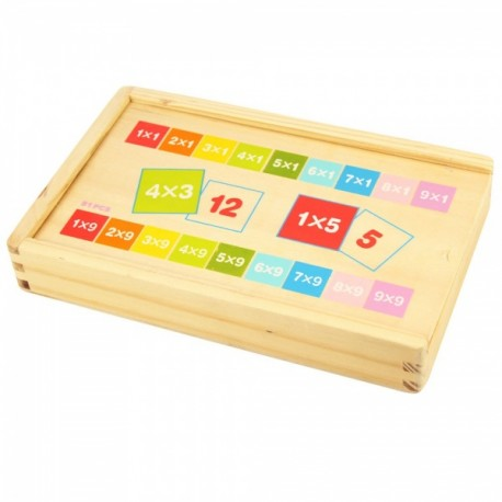 Bigjigs Toys - BJ538 - Nauka Tabliczki Mnożenia