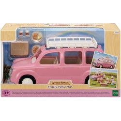 SYLVANIAN FAMILIES Zestaw z Pojazdem Rodzinny Piknikowy Van 5535