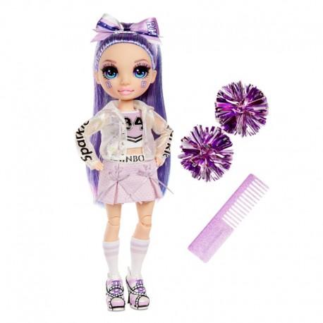 RAINBOW HIGH CHEER Lalka Violet Willow 572084