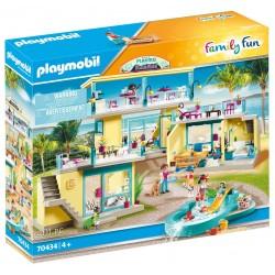 PLAYMOBIL Family Fun 70434 Playmo Beach Hotel