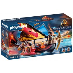 PLAYMOBIL Novelmore 70641 Statek Ognia Wojowników Burnham
