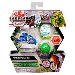Spin Master BAKUGAN Zestaw Startowy HOWLKOR MAXODON AUXILLATAUR 5409