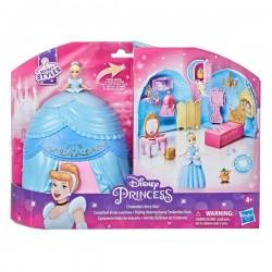 Hasbro DISNEY PRINCESS Secret Styles Zestaw do Zabawy z Laleczką KOPCIUSZEK F1386