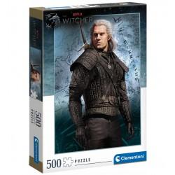CLEMENTONI Puzzle 500 Elementów THE WITCHER WIEDŹMIN NETFLIX 35092