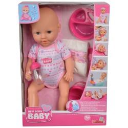 Simba New Born Baby LALKA BOBAS + Akcesoria 5330