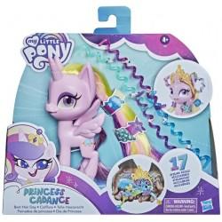 Hasbro My Little Pony KSIĘŻNICZKA CADANCE Z GRZYWĄ DO CZESANIA + Akcesoria F1287