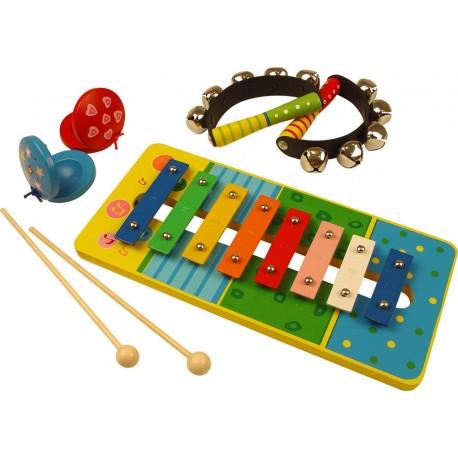 Bigjigs Toys - BJ188 - Instrumenty Perkusyjne