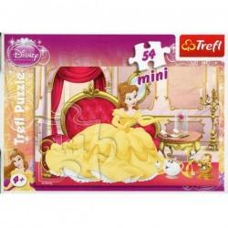 TREFL Puzzle MINI 54 Elementy Mini Układanka Disney Księżniczki BELLA 19390