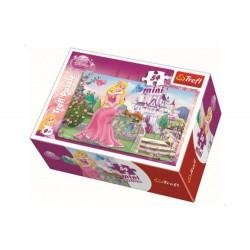 TREFL Puzzle MINI 54 Elementy Mini Układanka Disney Księżniczki ŚPIĄCA KRÓLEWNA AURORA 19389
