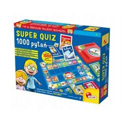 Lisciani I'M A GENIUS SUPER QUIZ 1000 PYTAŃ 6-12 Lat 56477