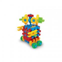 MARIOINEX Klocki Wafle Zestaw Konstrukcyjny ROBOT 90147