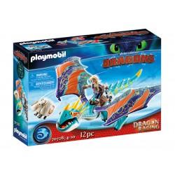 PLAYMOBIL DRAGONS 70728 Dragon Racing Jak wytresować smoka ASTRID I WICHURA
