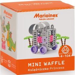 MARIOINEX Klocki Mini Wafle Zestaw Konstrukcyjny KSIĘŻNICZKA KAROCA 90248