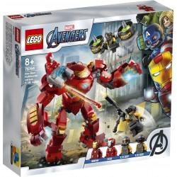 LEGO AVENGERS 76164 Hulkbuster Iron Mana Kontra Agenci A.I.M