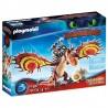PLAYMOBIL DRAGONS 70731 Dragon Racing Jak wytresować smoka SĄCZYSMARK I HAKOKIEŁ
