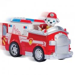 SPIN MASTER- 8615 - Psi Patrol - Paw Patrol - Wóz Strażacki z Figurką - MARSHALL