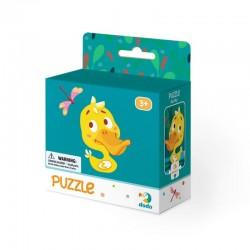 DODO Puzzle Układanka 16 Elementów Puzzle Dla Maluszków KACZUSZKA 300113