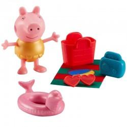 Character Options ŚWINKA PEPPA Figure & Accessories Figurka z Akcesoriami Peppa i Czerwony Koszyk 06179