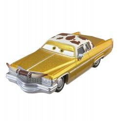 Mattel CARS AUTA Samochodzik Metalowy Tex Dinoco HBR30