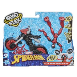 Hasbro Spider-Man Bend and Flex FIGURKA SPIDER-MAN + POJAZD 2w1 F0236