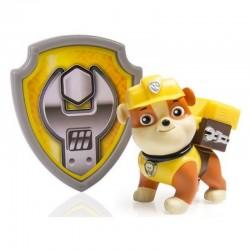 COBI - 4336 - Psi Patrol - Paw Patrol - Figurka Akcji z Odznaką - RUBBLE