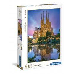 CLEMENTONI Układanka Puzzle 500 Elementów High Quality Collection BARCELONA SAGRADA FAMILIA 35062