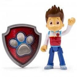 SPIN MASTER - 8610 - Psi Patrol - Paw Patrol - Figurka Akcji z Odznaką - RYDER